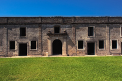 Old spanish fort in St Augustine, Florida