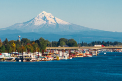 Mount Ranier and Harbor