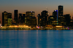 Downtown Vancouver Skyline at Night