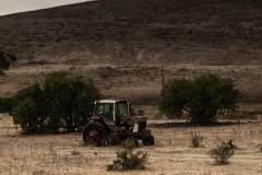 Derilict Tractor - Part of the Coast Starlight Series