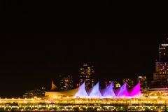 Vancouver - Canada Place at Night